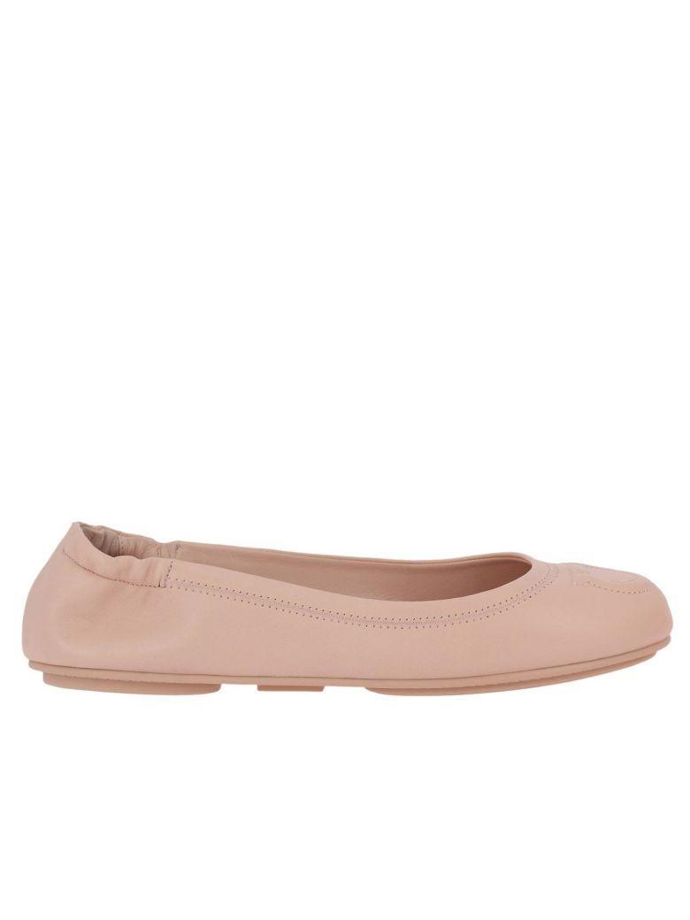 Salvatore Ferragamo Ballet Flats Shoes Women  In Pink