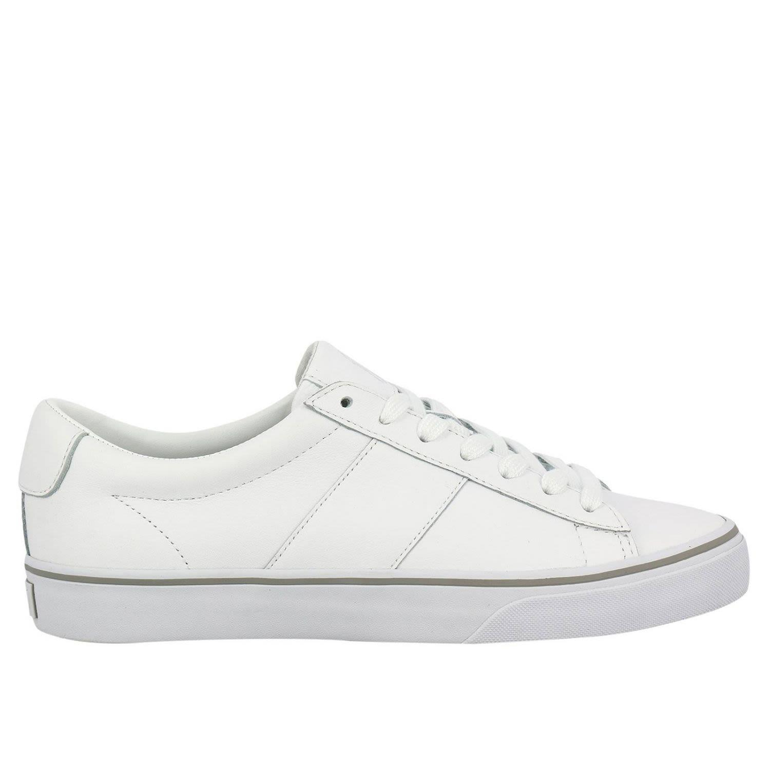 Polo Ralph Lauren Sneakers Shoes Men  In White
