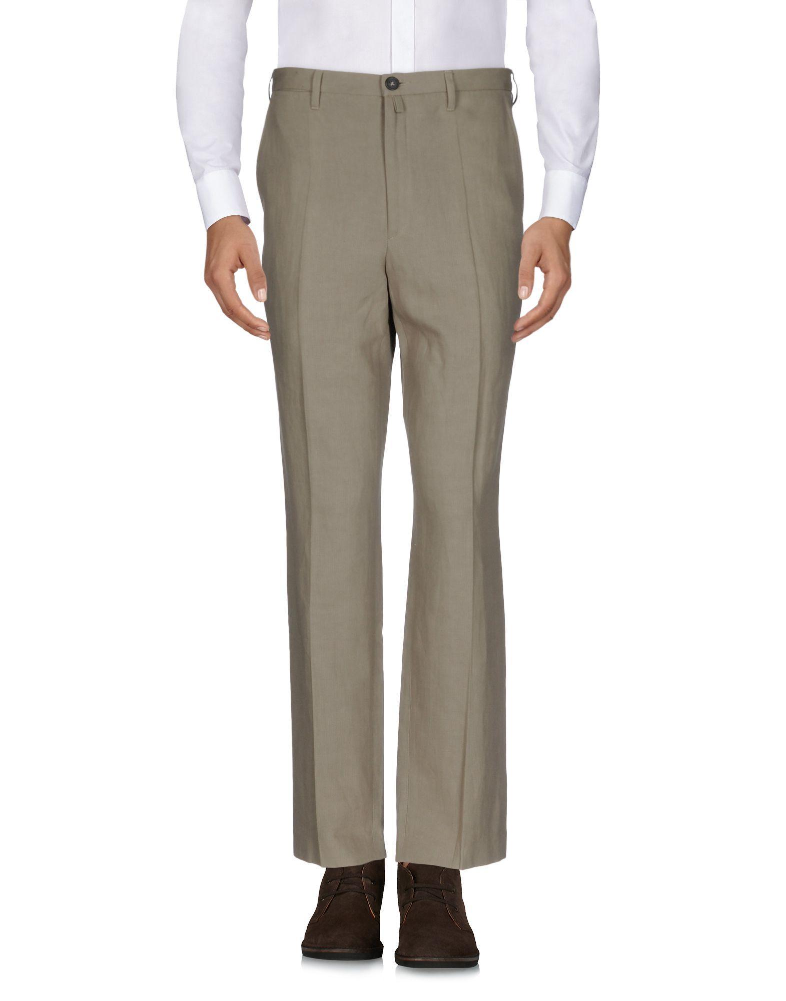Dries Van Noten Casual Pants In Khaki