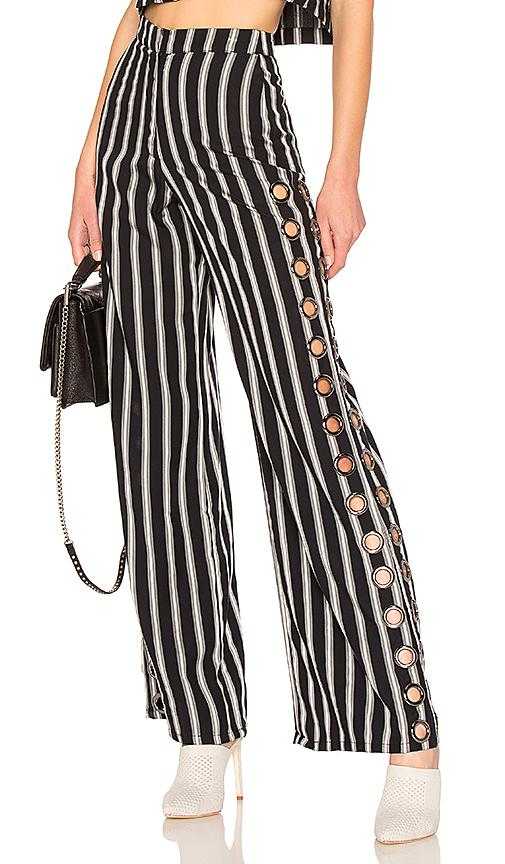 House Of Harlow 1960 X Revolve Holden Pant In Black. In Deep