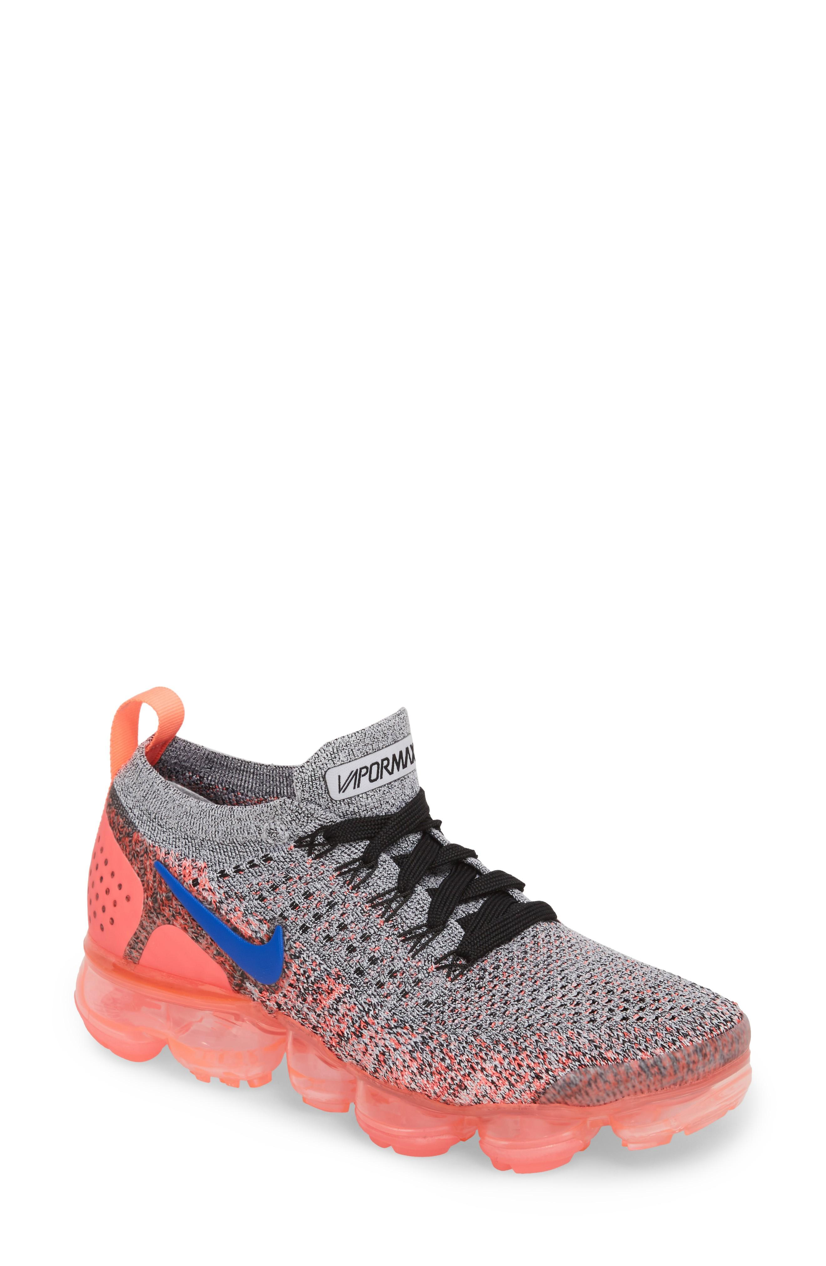 b8f99e999715b Nike Air Vapormax Flyknit 2 Running Shoe In Hot Punch