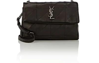 47f615ee6eae Saint Laurent West Hollywood Patchwork Leather Shoulder Bag - Black ...