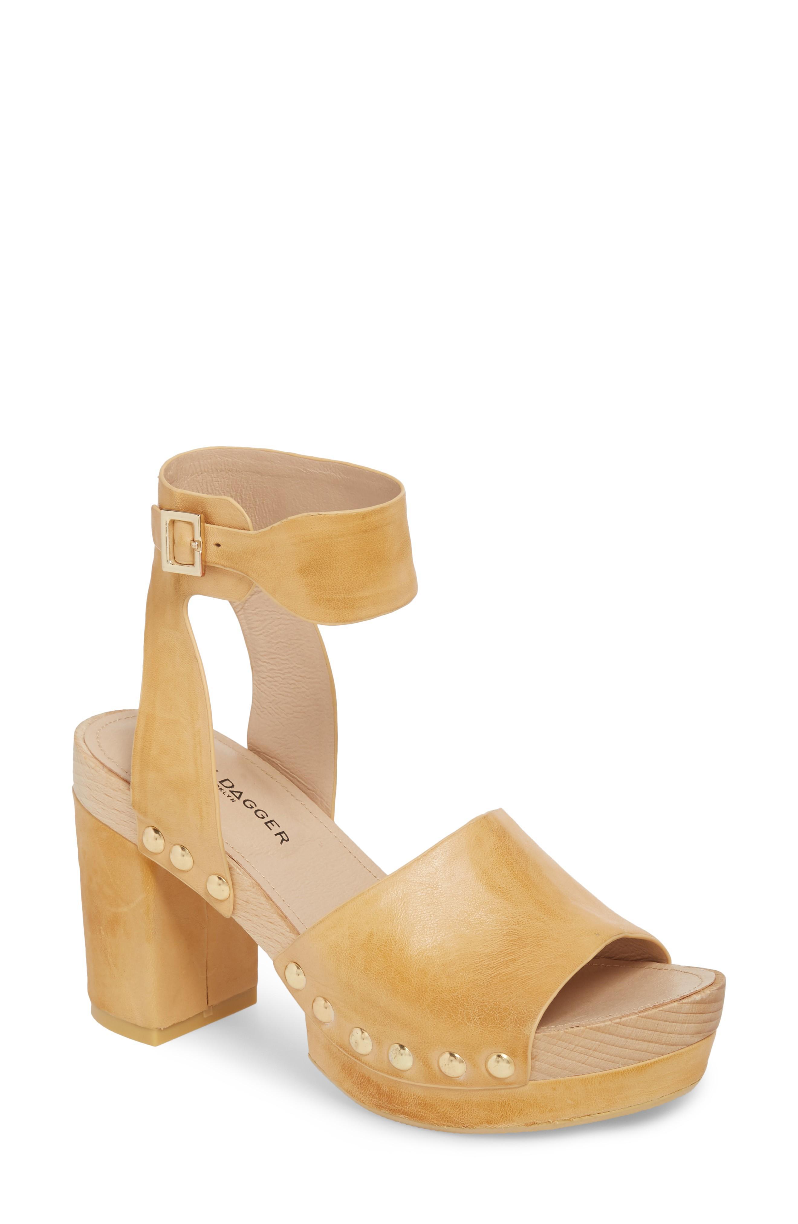 66ca094d421 Kelsi Dagger Brooklyn Farris Platform Sandal In Marigold Leather ...