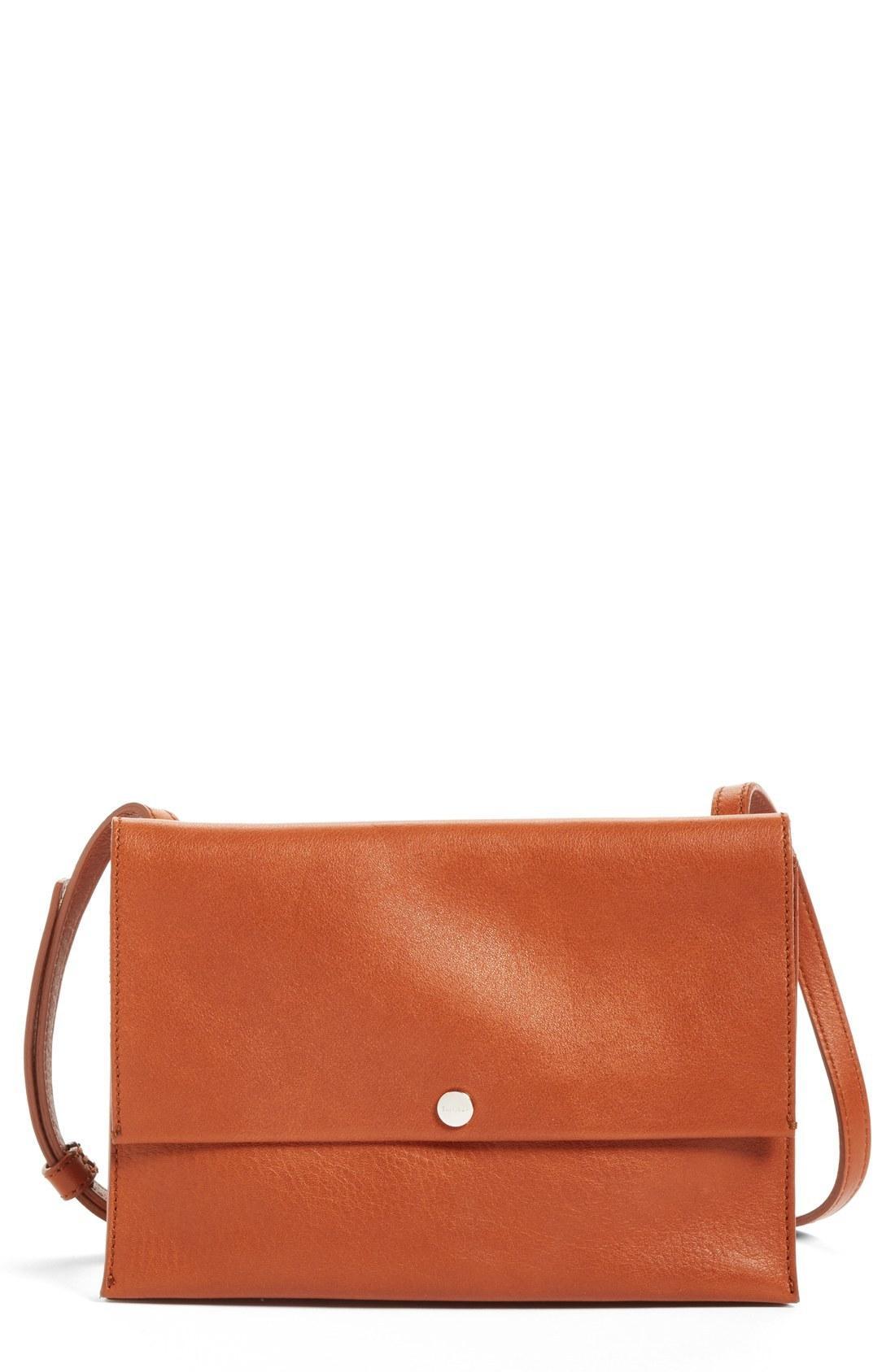 afecd98f4 Shinola Crossbody Leather Bag - Brown In Bourbon | ModeSens