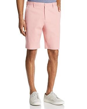 b1ea46084315 THE MEN S STORE AT BLOOMINGDALE S. The Men s Store At Bloomingdale s Twill  Regular Fit Shorts - 100% Exclusive ...