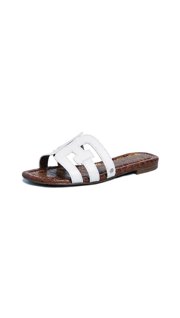 05814692b Sam Edelman Women. SAM EDELMAN. Women s Bay Leather Slide Sandals ...