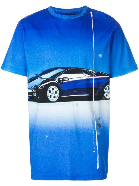 Blood Brother Droptop T In Blue