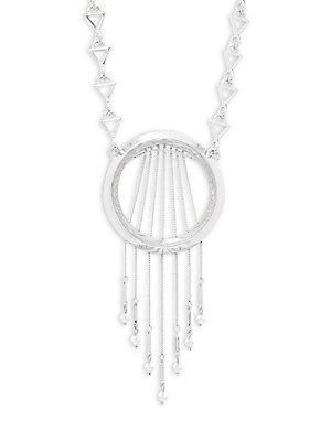 Eddie Borgo S/16 Crystal Oracle Necklace