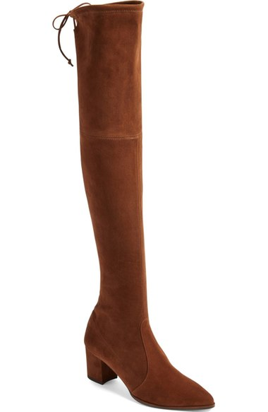 267370c9b15 Stuart Weitzman Thighland Over The Knee Boot (Women) In Walnut ...