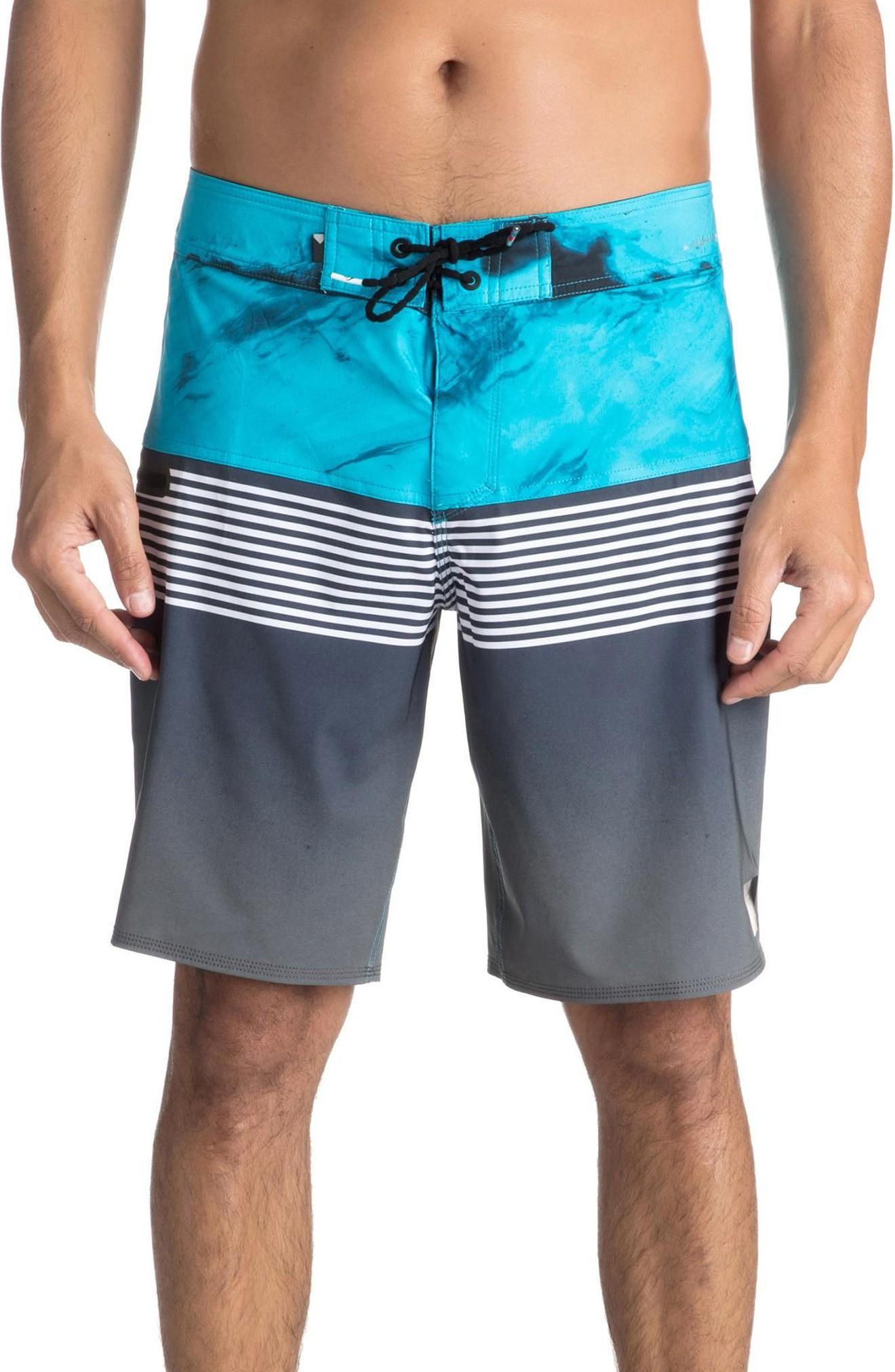 7d81654f5f Quiksilver Highline Lava Division Board Shorts In Black | ModeSens