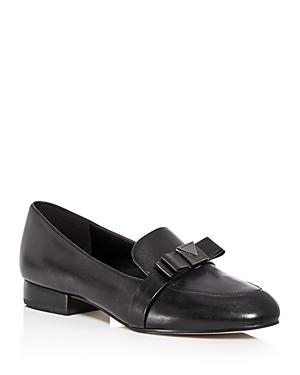 2794171d2c3d Michael Michael Kors Women s Caroline Leather Apron Toe Loafers In Black  Leather