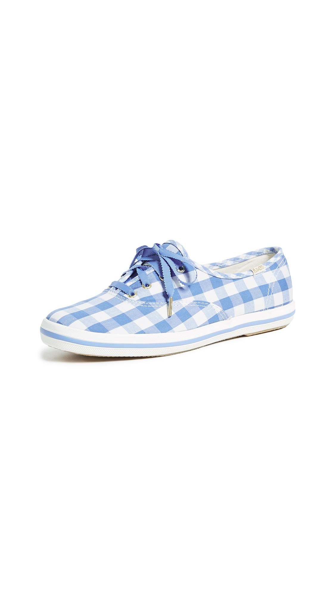 a8498883a4b Keds X Kate Spade New York Gingham Sneakers In Periwinkle