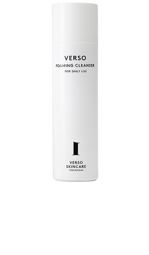 Verso Skincare Foaming Cleanser In All