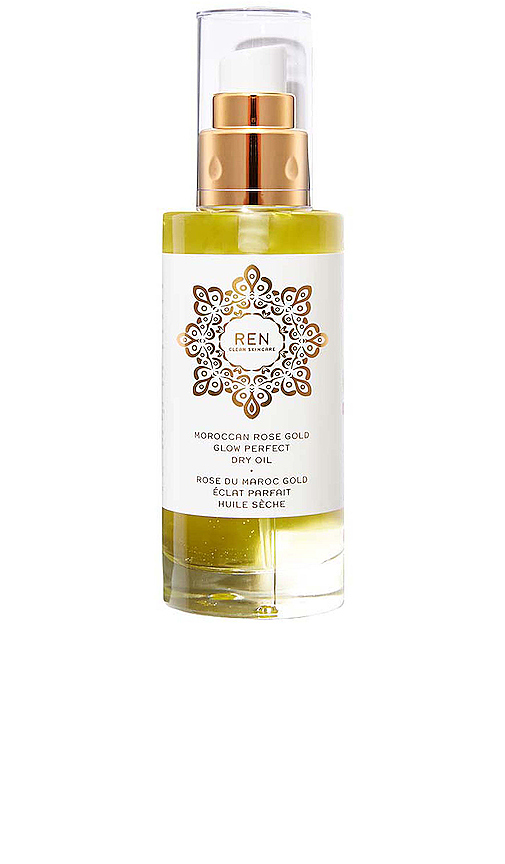 Ren Clean Skincare Moroccan Rose Gold Glow Perfect Dry Oil In N,a