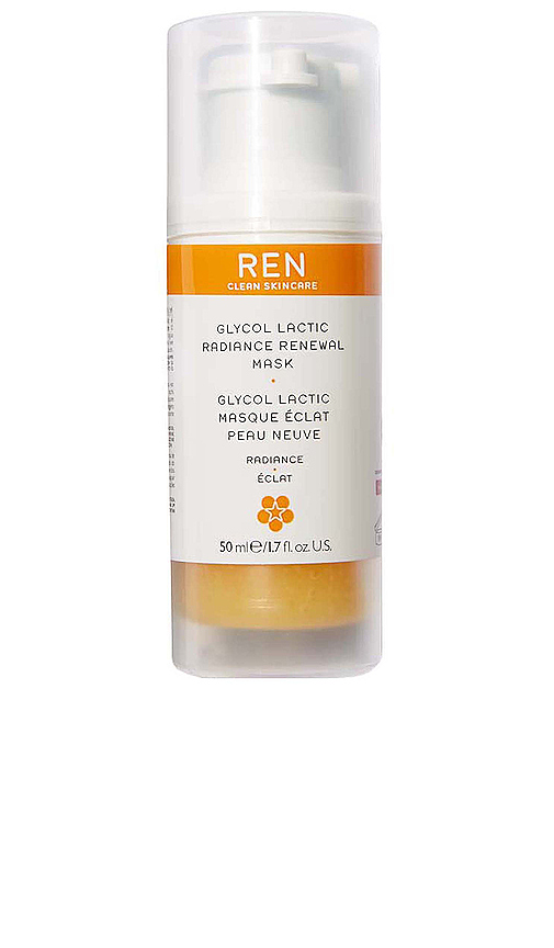 Ren Clean Skincare Radiance Glycol Lactic Radiance Renewal Mask In N,a