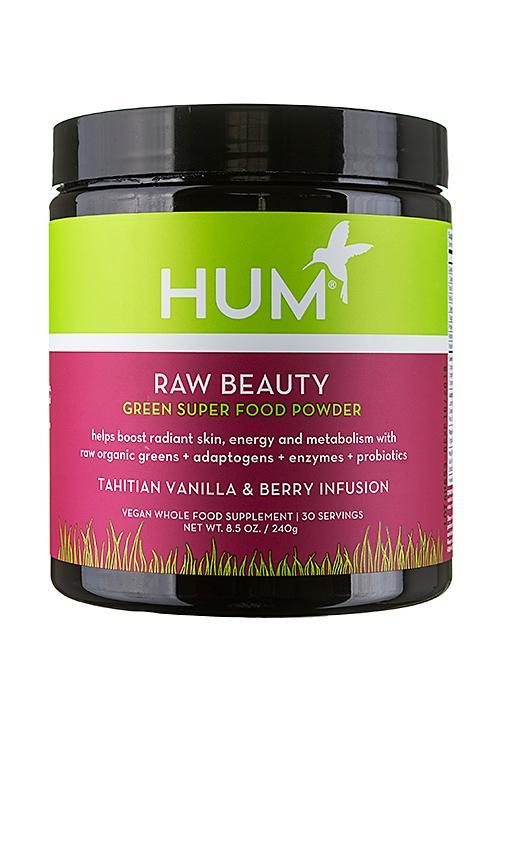 Hum Nutrition Tahitian Vanilla & Berry Skin & Energy Superfood Powder In N,a