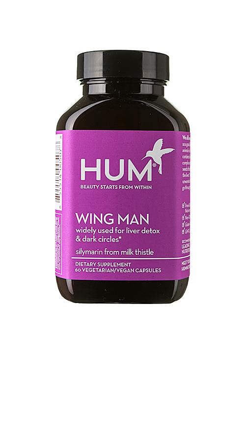 Hum Nutrition Wing Man Liver Detox And Dark Circle Supplement In N,a