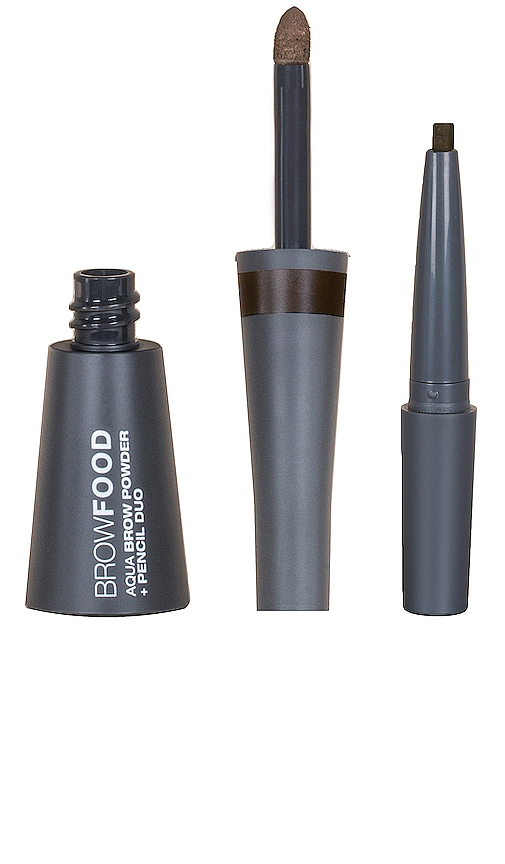 Lashfood Browfood Aqua Brow Powder + Pencil Duo In Taupe