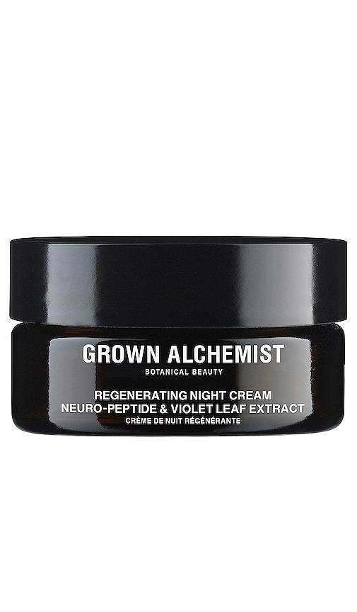 Grown Alchemist Regenerating Night Cream Neuro-peptide & Violet Leaf In N,a