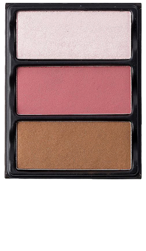Viseart Theory I Blush, Bronzer & Highlighter Palette In Enamored