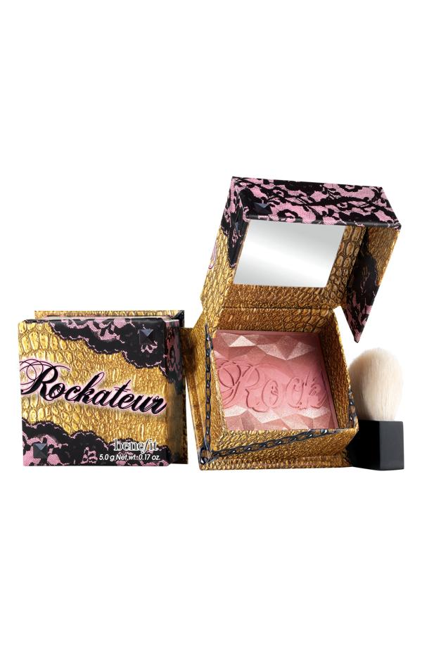 Benefit Cosmetics Rockateur Box O' Powder Blush Rockateur 0.17 oz/ 5 G In Rose Gold