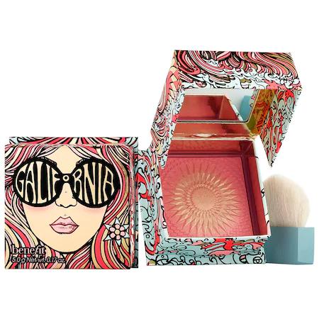Benefit Cosmetics Benefit Galifornia Sunny Golden Pink Powder Blush, 0.17 oz