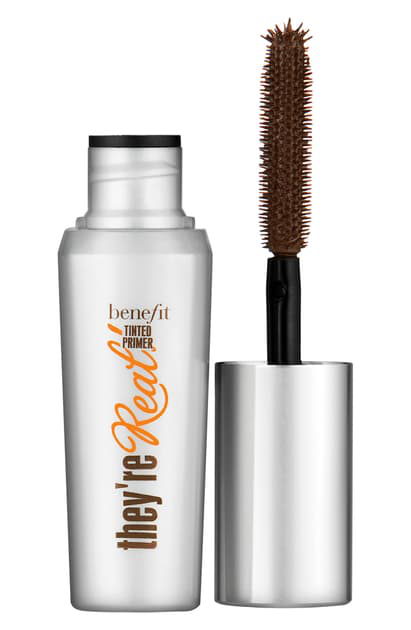 Benefit Cosmetics Benefit They're Real! Tinted Lash Primer, 0.3 oz In Mink Brown