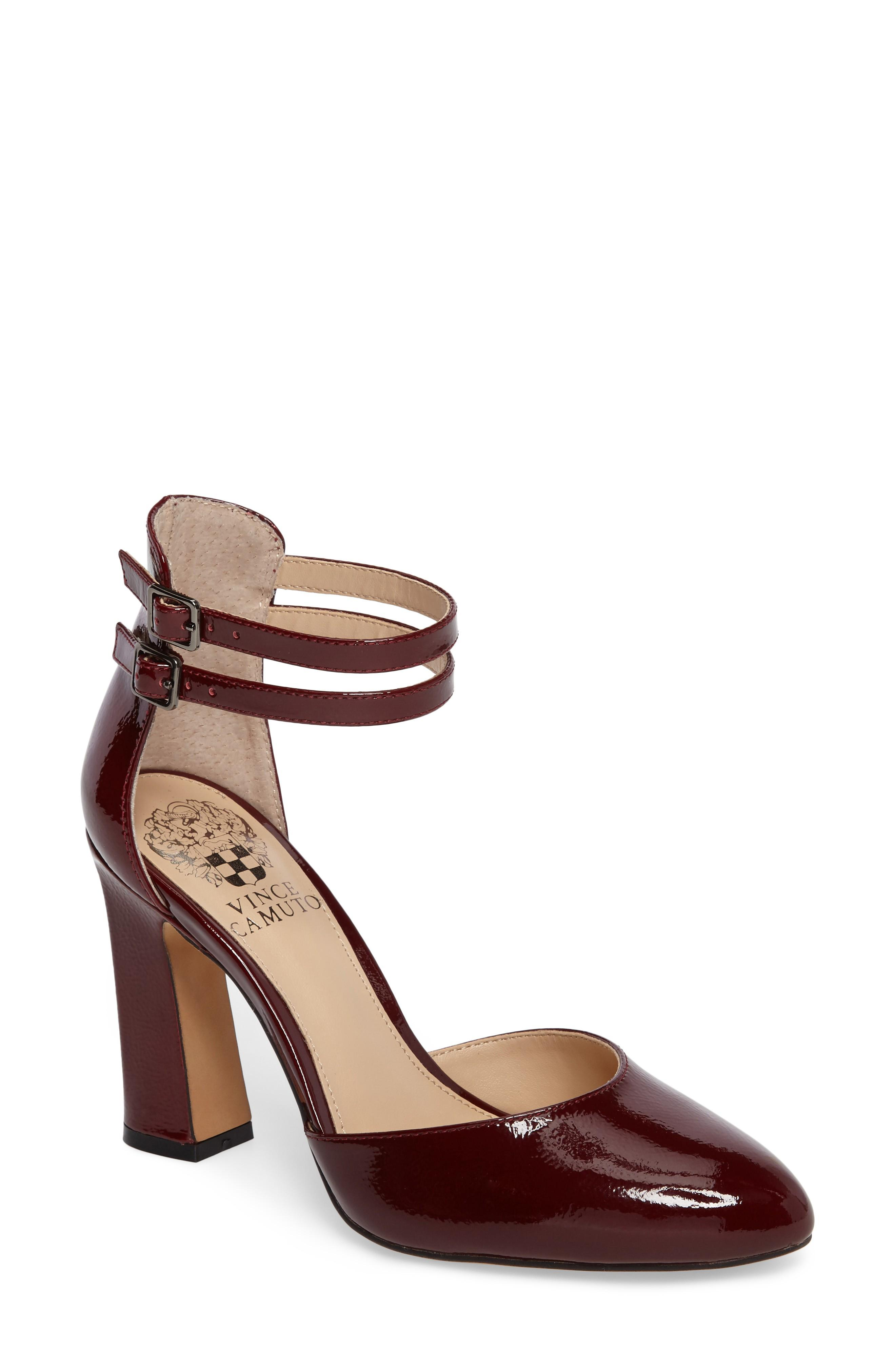 Vince Camuto Dorinda Pump In Red Patent Leather Modesens