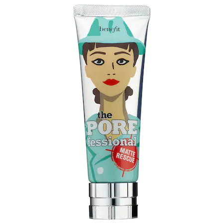 Benefit Cosmetics The Porefessional: Matte Rescue Invisible Finish Mattifying Gel 1.6 oz/ 47 ml In Blue/ Green