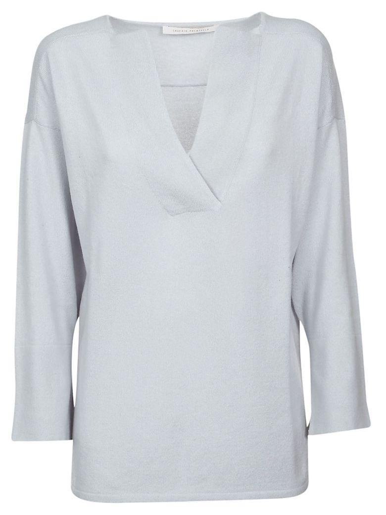 Saverio Palatella Classic Top In Light Blue