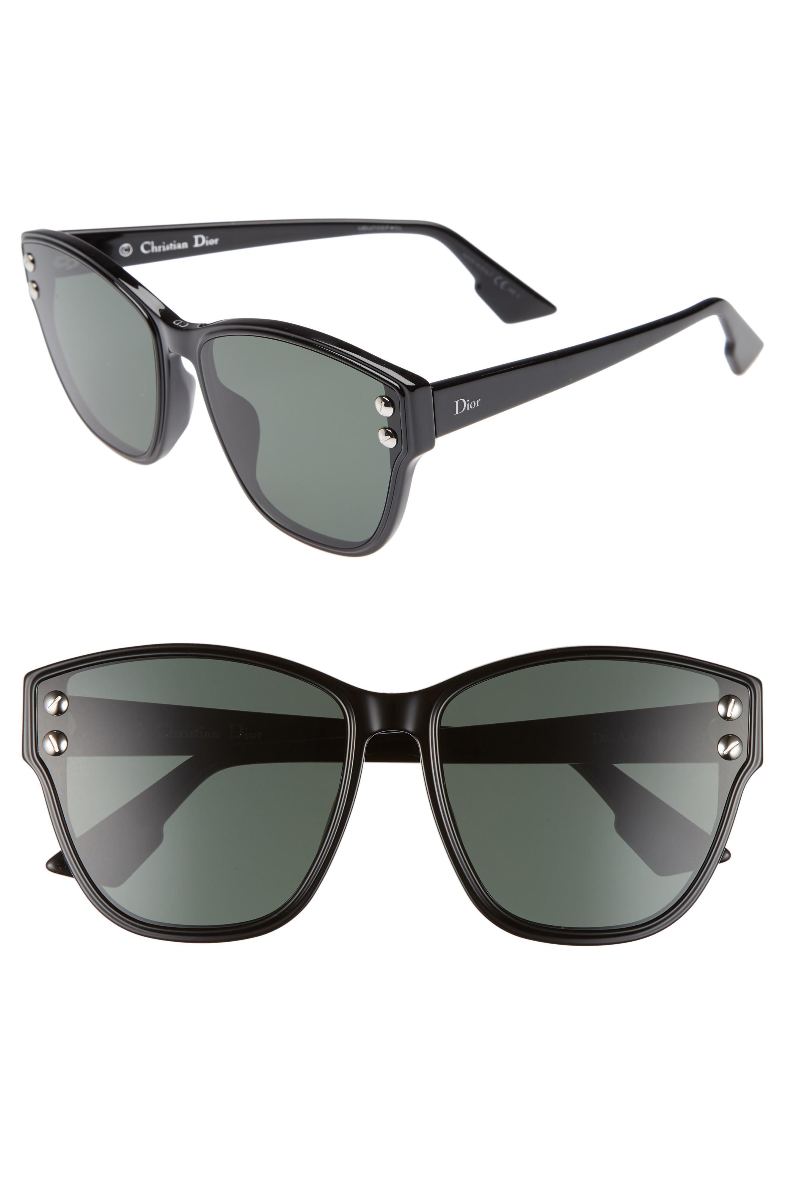 8457723043aa Dior Addict 62Mm Special Fit Cat Eye Sunglasses - Black