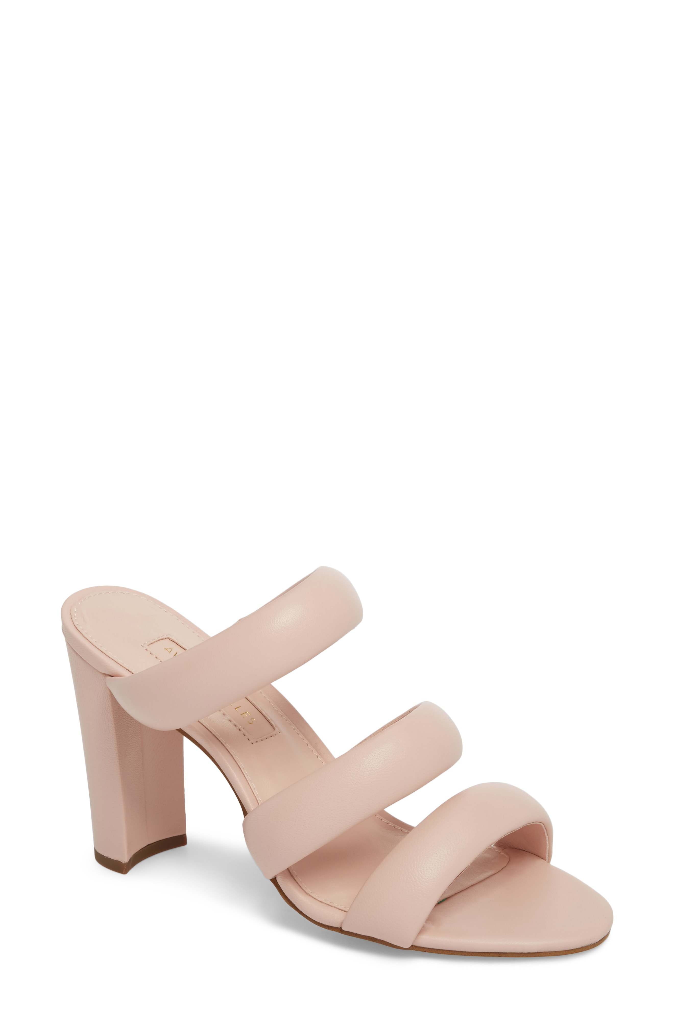 Mara Banded Mule in Avec Pink Leather