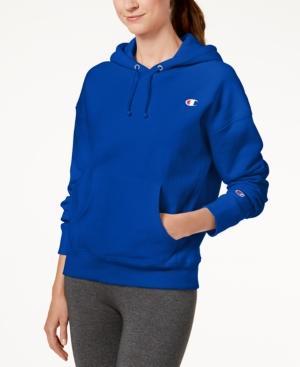 9de39064d086 Champion Reverse-Weave Fleece Hoodie In Groove Blue