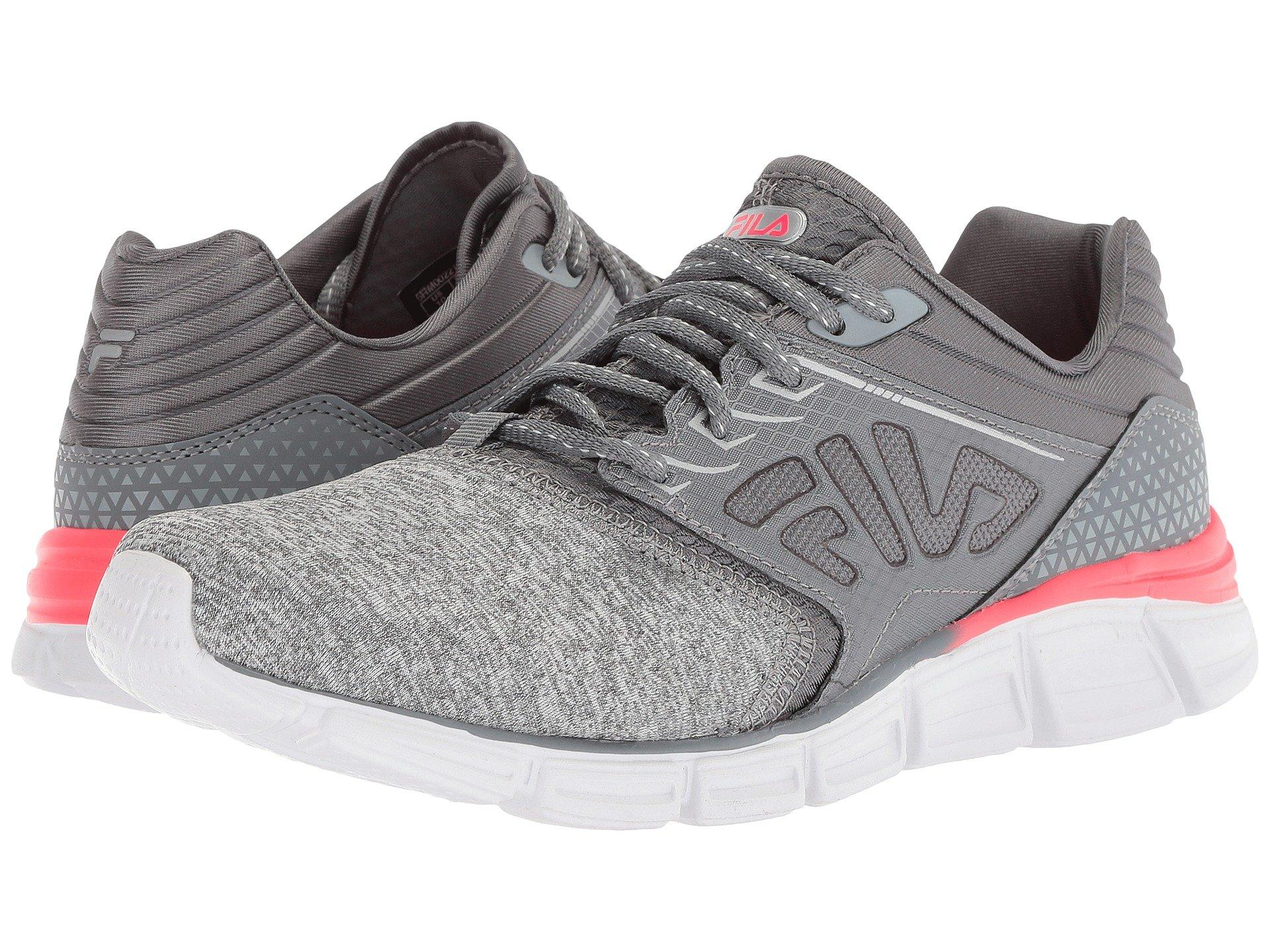 6e8cd3923683 9089494. Make a run for it in the FILA® Memory Multiswift 2 Running  sneakers. Heathered knit upper with synthetic overlays for support. Lace-up  closure.