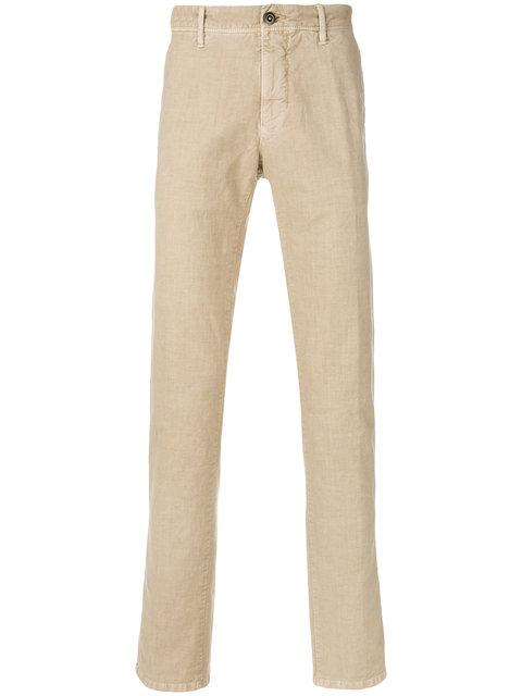 Incotex Classic Chinos In Neutrals