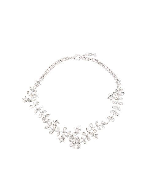 Dsquared2 Crystal Necklace - Metallic