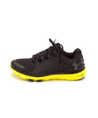 new concept bca4b 213bd Under Armour Mens Micro G Limitless Tr Leather Low Top Lace Up Walking  Shoes in Black