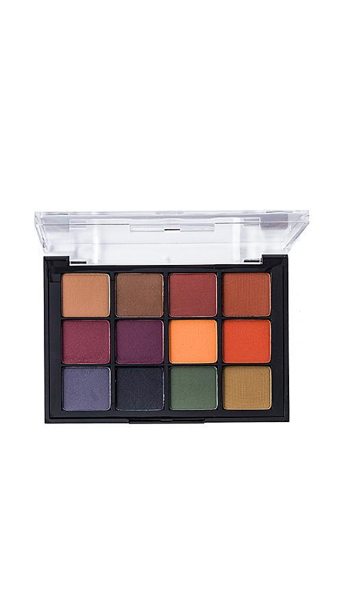 Viseart Eyeshadow Palette In Dark Mattes