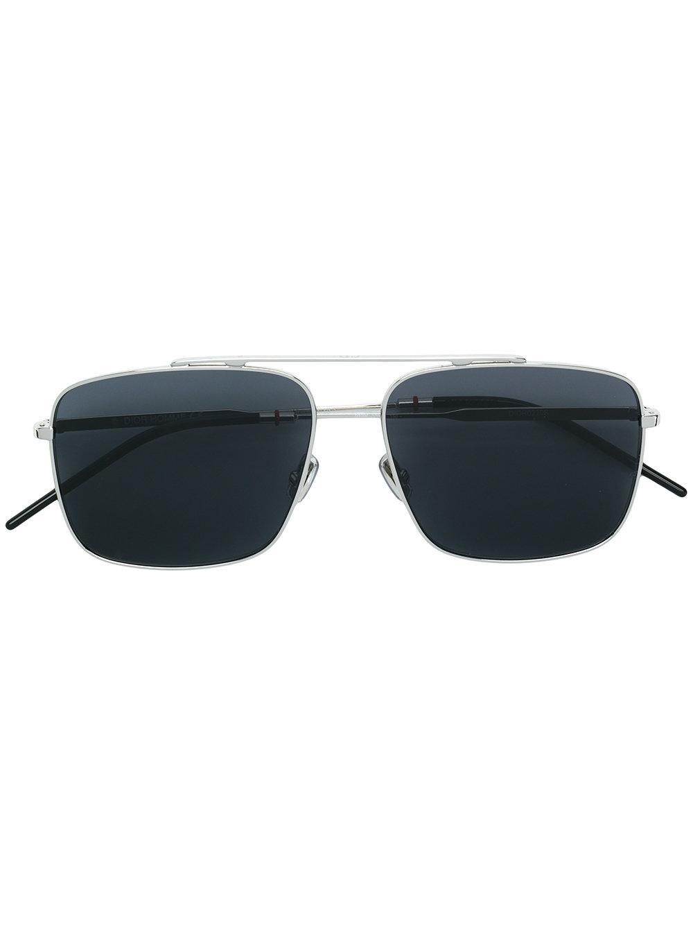 f299fabc418c5 Dior Eyewear Aviator Sunglasses - Metallic