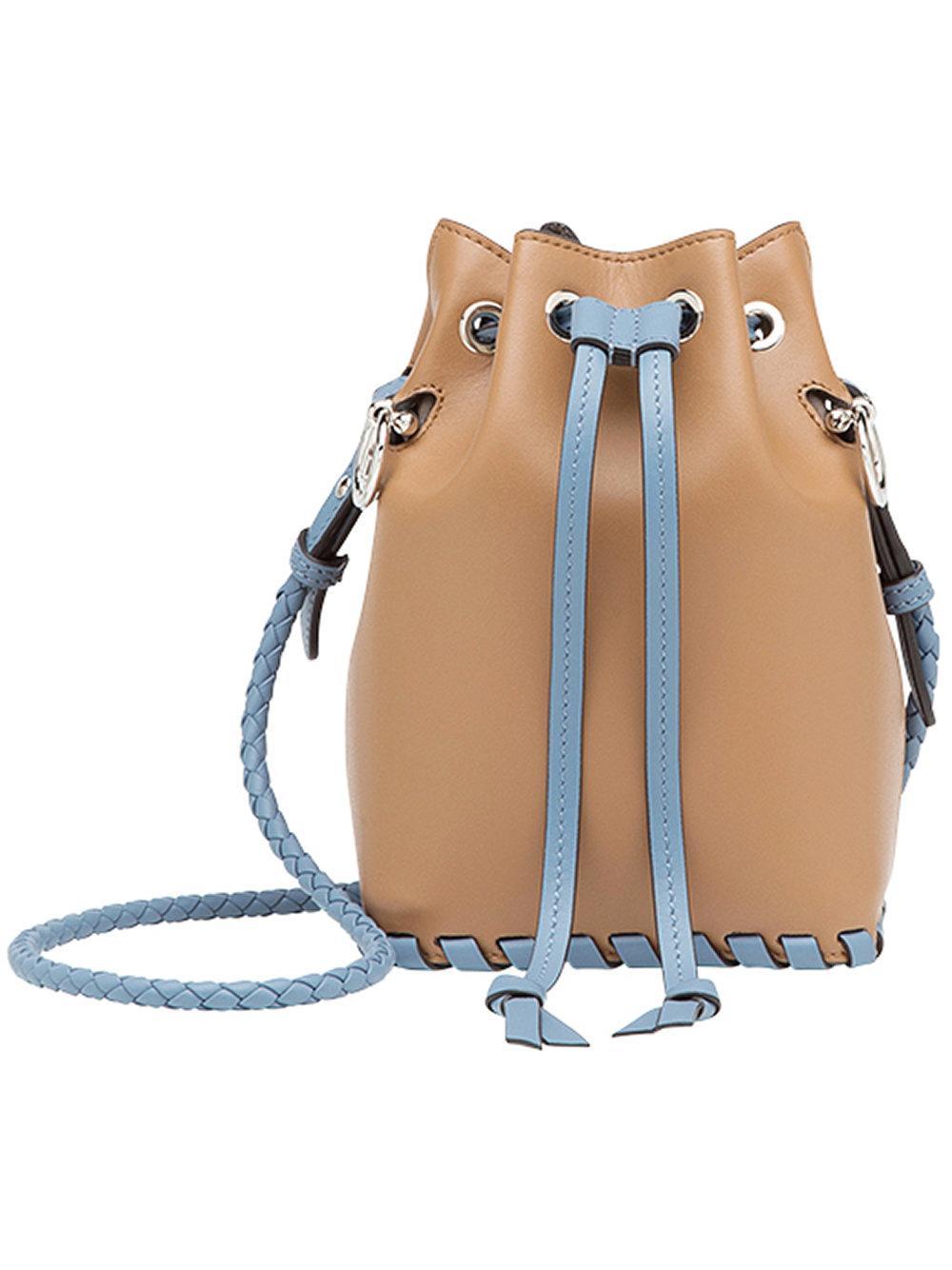 d4630d2d4dc8 Fendi Mon TréSor Mini Bucket Bag - Brown