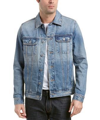 Ag Dart Denim Jacket In 19 Years Destroyed