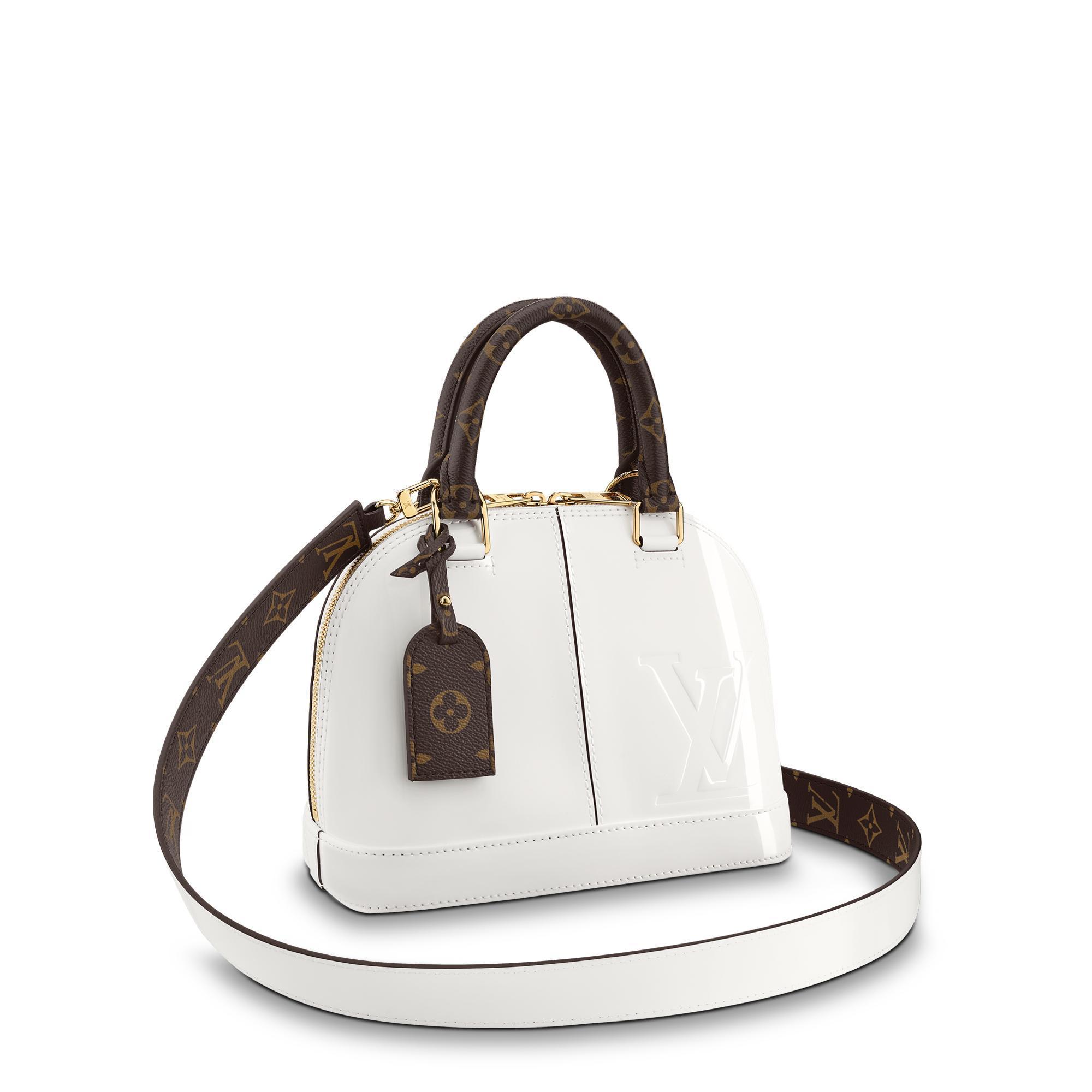 b005f386c892 Louis Vuitton Alma Bb In Blanc