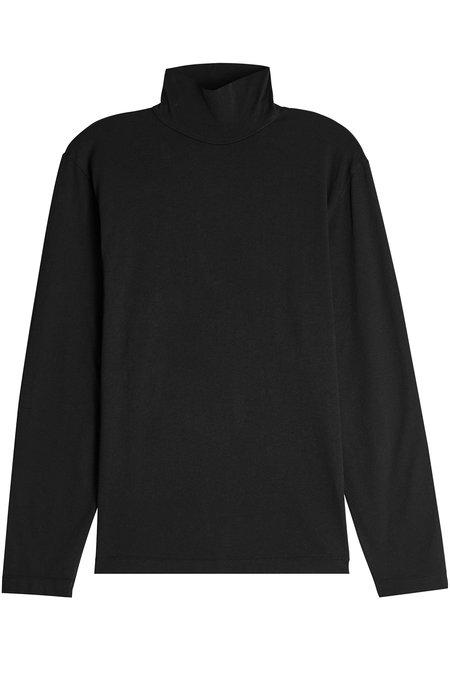 Our Legacy Cotton Turtleneck Top In Black