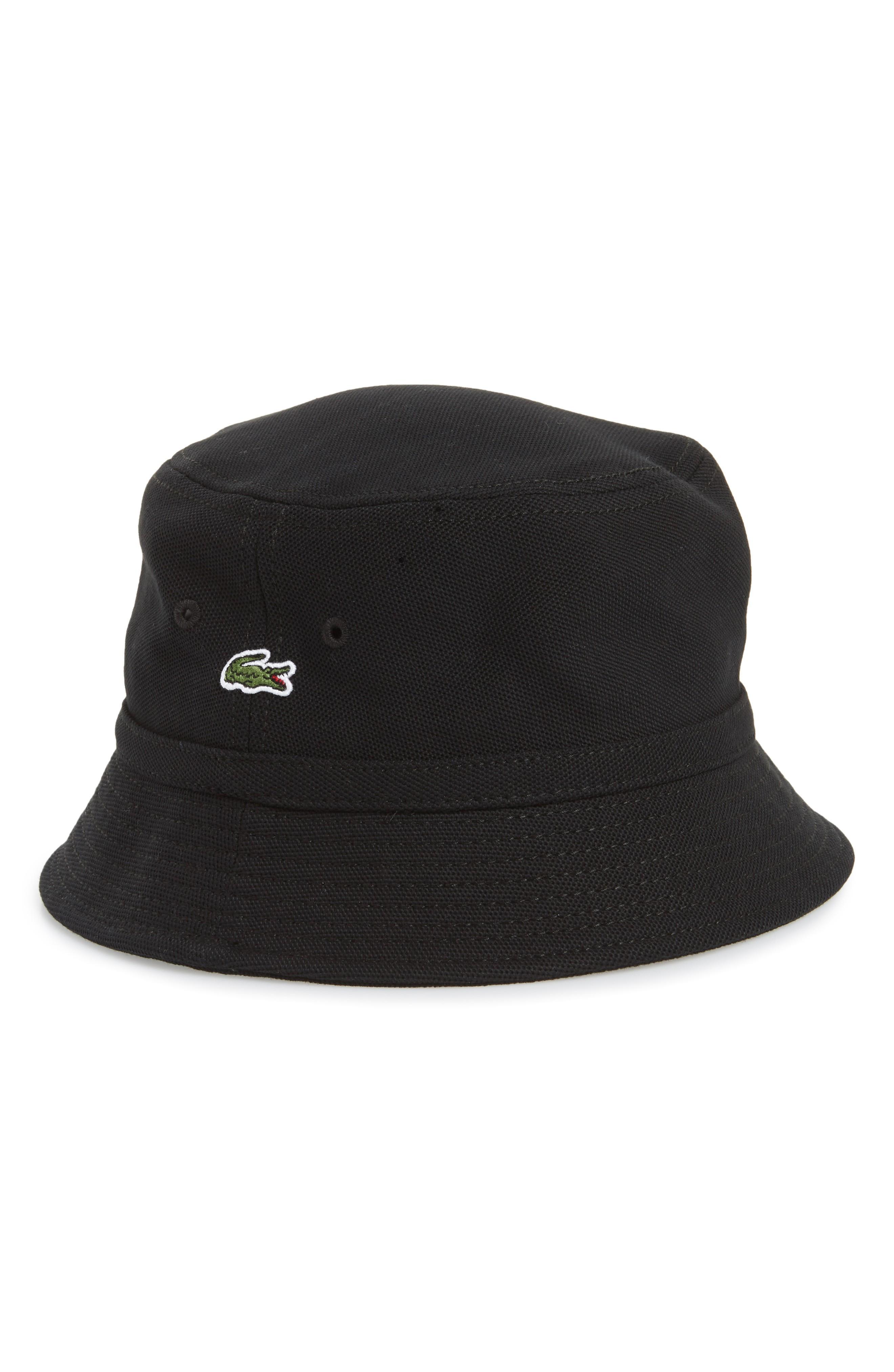 Lacoste Bob Bucket Hat - White  c7ccae2249d6
