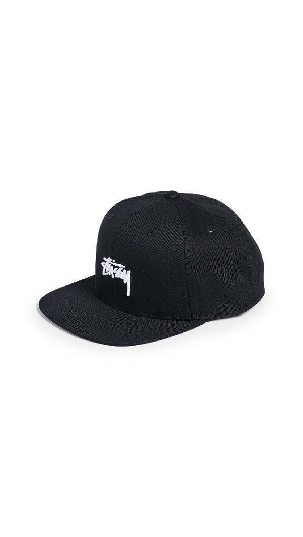 f86fa6a99c53ff Stussy Stock S18 Snapback Cap In Black   ModeSens
