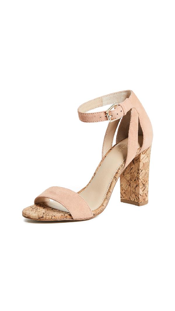 cd2cf222dba Botkier Gianna Block Heel Sandals In Soft Peach