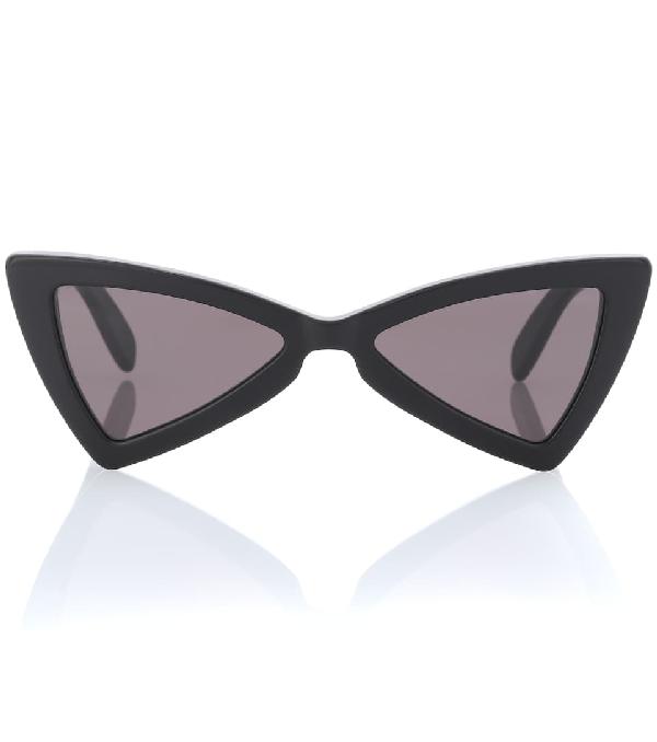 c0fd63f98ed1 Saint Laurent New Wave 207 Jerry Sunglasses In Black | ModeSens