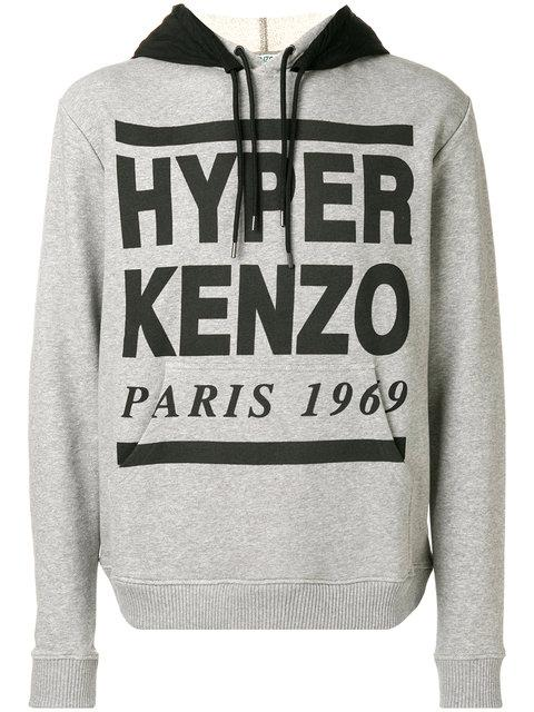 bcab43b53 Kenzo Hyper Hoodie - Grey | ModeSens