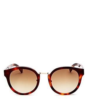 75503622d8 Longchamp 51Mm Round Sunglasses - Havana