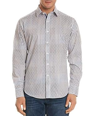 Robert Graham Trinidad Striped Classic Fit Button-down Shirt In Nocolor